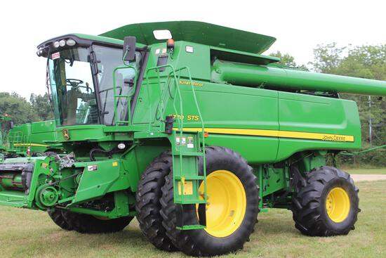 2010 JD 9770STS 4wd combine
