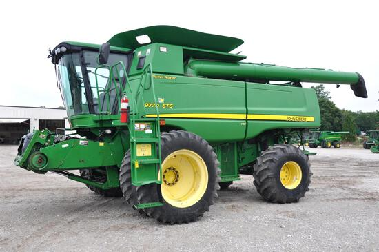 2008 JD 9770STS 4wd combine