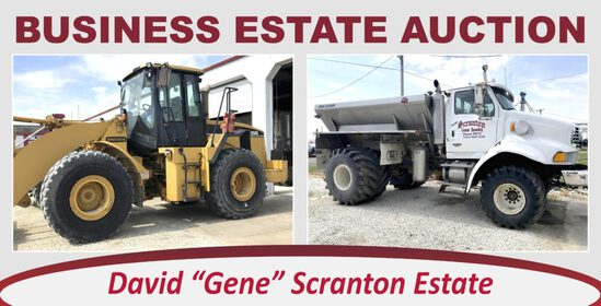Online Only Absolute Business Estate Auction