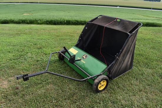 "John Deere 42"" lawn sweep"