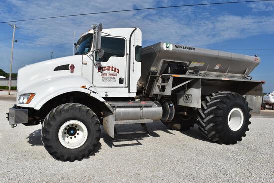 2014 Kenworth T440 2wd spreader truck