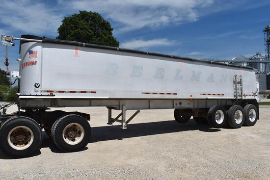 2005 Vantage 35' aluminum frameless dump trailer