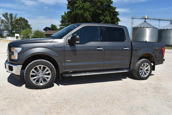 2016 Ford F-150 4wd truck