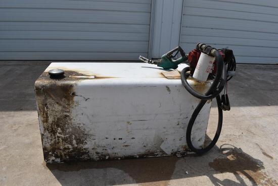 108 gal. fuel transfer tank, Fill-Rite 15 GPM pump