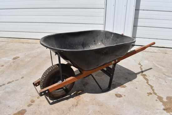 1-wheel wheelbarrow