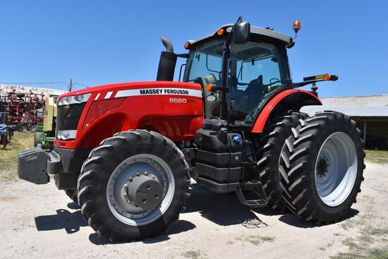 2012 Massey Ferguson 8660 MFWD tractor