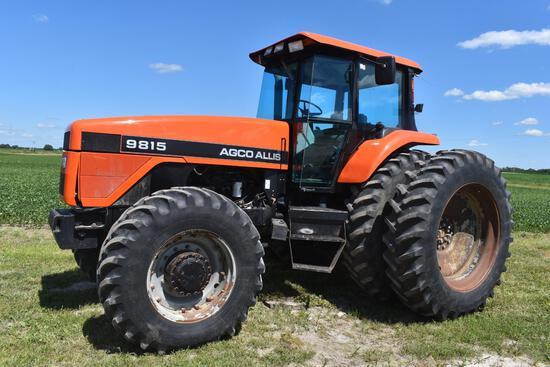 1996 AGCO Allis 9815 MFWD tractor