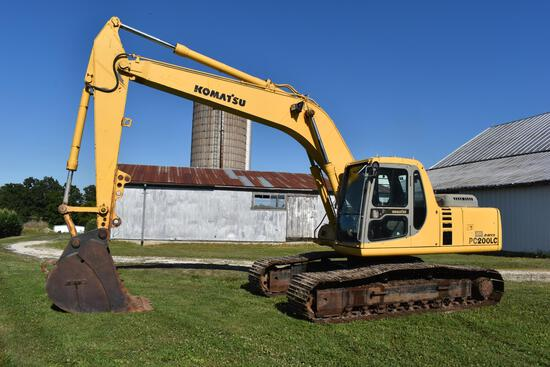 Komatsu PC200LC excavator