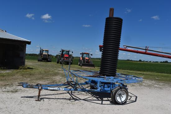 2000 Agri-Drain tile cart