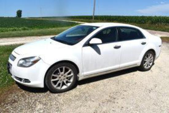 2010 Chevy Malibu LTZ 4-door Car