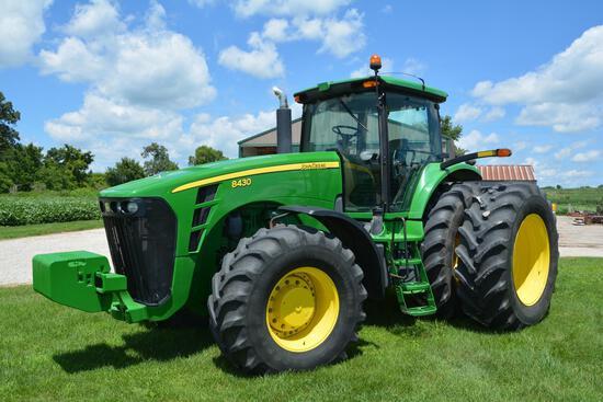 2007 John Deere 8430 MFWD tractor