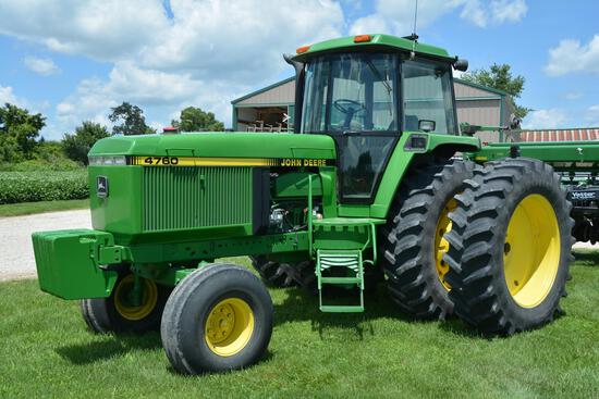 1992 John Deere 4760 2wd tractor