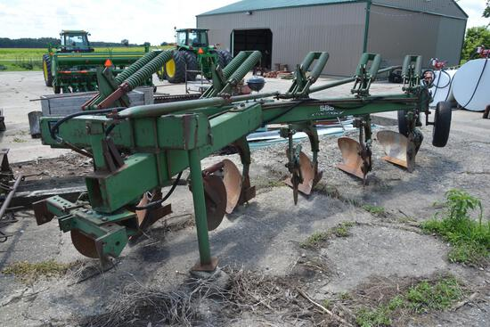 Oliver 588 5-bottom moldboard plow