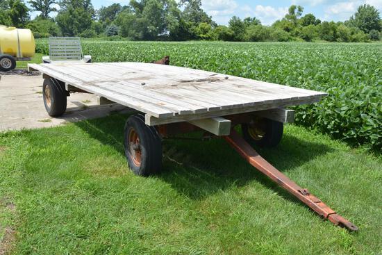 8' x 16' hayrack wagon