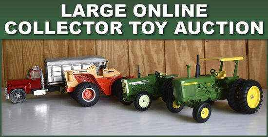 Large Online Collector Toy Auction