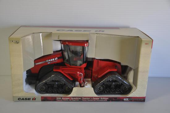 Ertl Britains 1/16 Scale Case-IH 535 Steiger Quadtrac Dealer Edition Toy Tractor