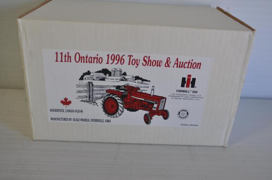 Scale Models 1/16 Scale Farmall 656 Toy Tractor, 1996 Ontario Toy Show & Auction