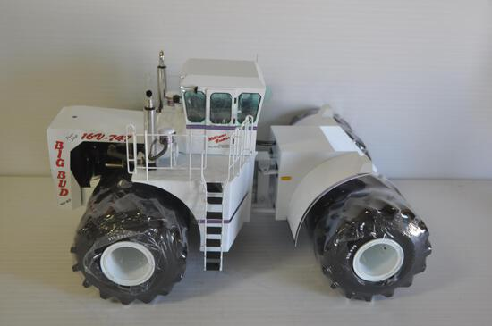 Scale Models 1/16 Scale Big Bud Toy Tractor, Toy Farmer
