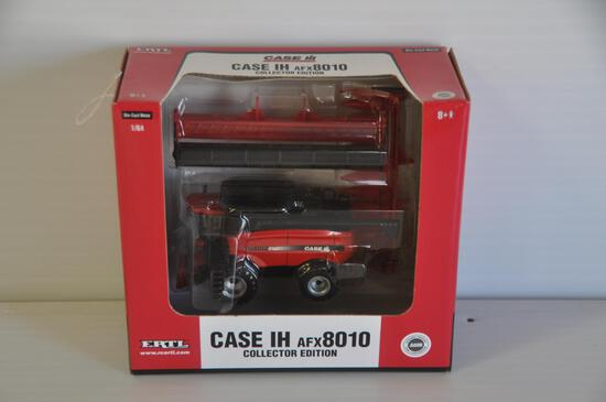 Ertl 1/64 Scale Case-IH AFX8010 Toy Combine