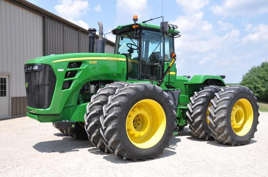 2009 JD 9330 4WD tractor