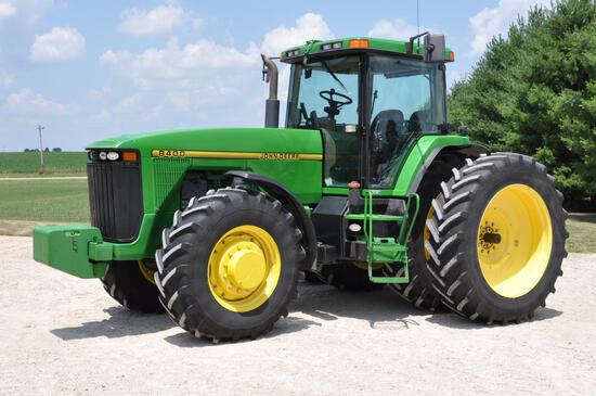 1996 JD 8400 MFWD tractor