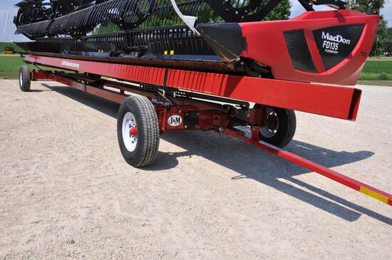 J&M 4WS15 42' all-wheel-steer head trailer