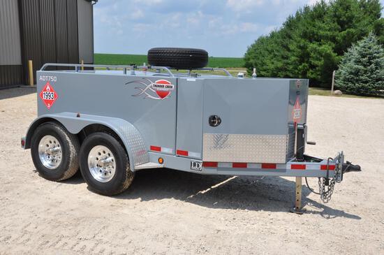 2014 ThunderCreek ADT750D 750 gal. fuel trailer w/DEF