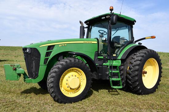 2010 John Deere 8270R MFWD tractor