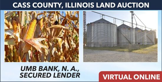 Cass County, IL Land Auction - UMB Bank
