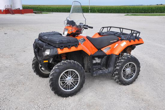 2011 Polaris Sportsman 850 XP EFI 4wd ATV
