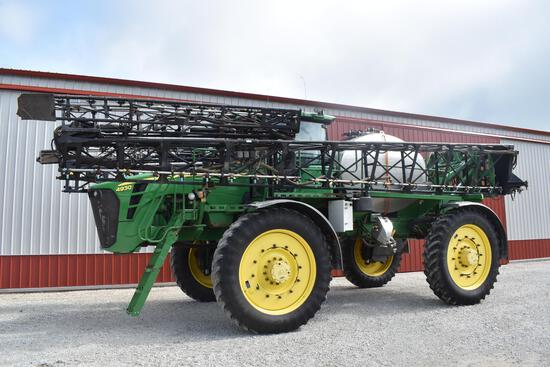 2011 JD 4930 self-propelled sprayer