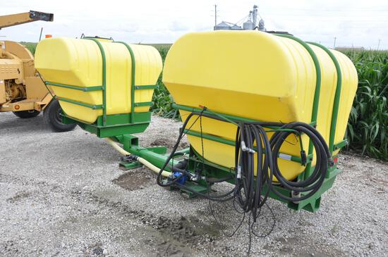 Saddle tanks w/brackets & hyd. pump