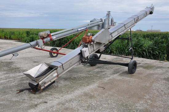 Layco stainless 30' belt conveyor