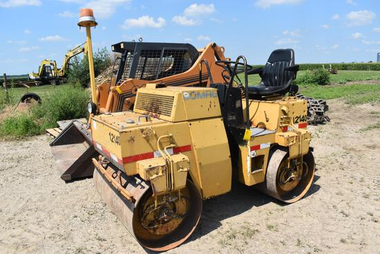 Bomag BW120AD-2 vibratory double drum roller compactor