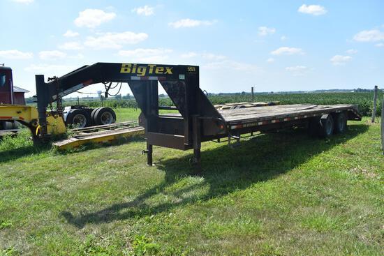 2008 Big Tex 30' flatbed trailer