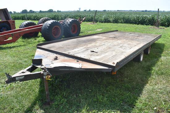 Sno-Bird 7'x16' flatbed trailer