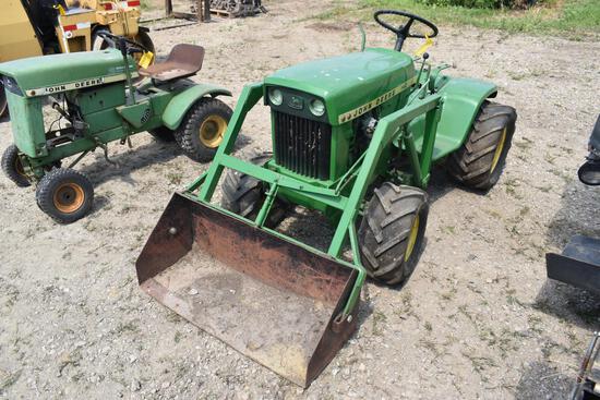 JD 140 riding lawn mower