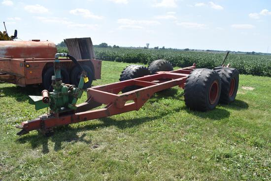 HD tandem axle gear