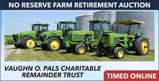 Ring 1: No-Reserve Farm Retirement Auction - Pals