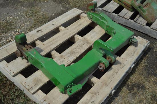John Deere cat II quick hitch