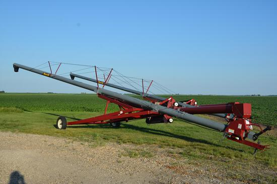 "Mayrath 10"" x 61' hyd. swing away augers"