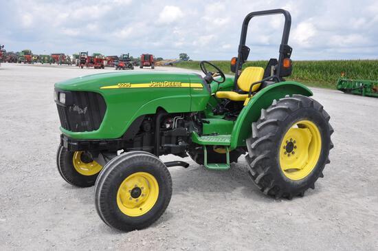 2007 John Deere 5225 2wd tractor