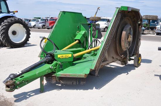 2014 John Deere CX15 15' batwing mower