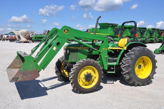 1995 John Deere 5300 MFWD tractor