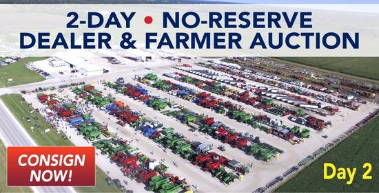 Day 2 - No Reserve Dealer & Farmer Auction