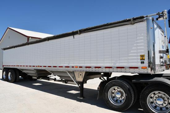 2011 Wilson 41' aluminum hopper bottom trailer