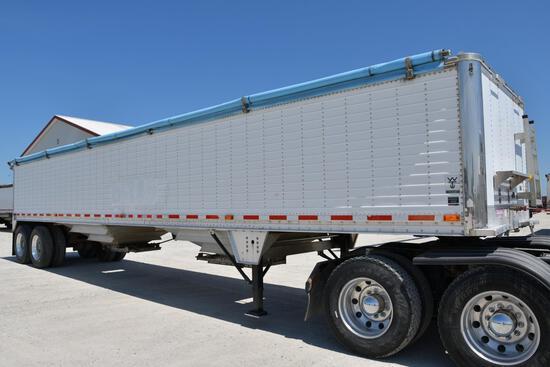 2004 Wilson 41' aluminum hopper bottom trailer
