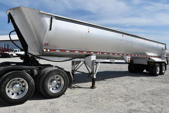 Mac 40' aluminum frameless dump trailer