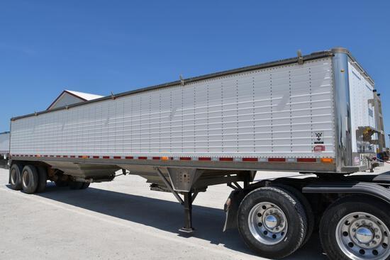 2013 Wilson 41' aluminum hopper bottom grain trailer