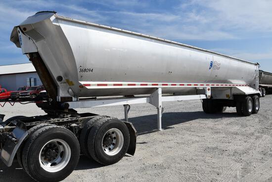 2000 ATM 40' aluminum frameless dump trailer